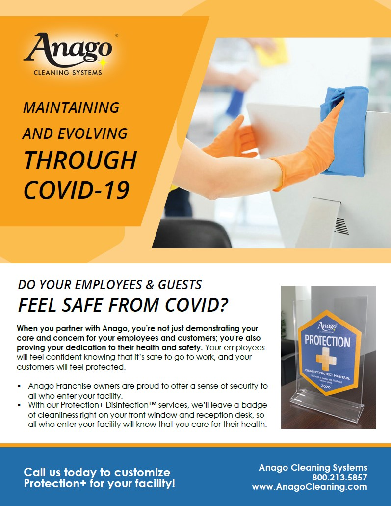 Maintaining and Evolving through COVID-19 Flyer