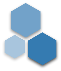 group of hexagons
